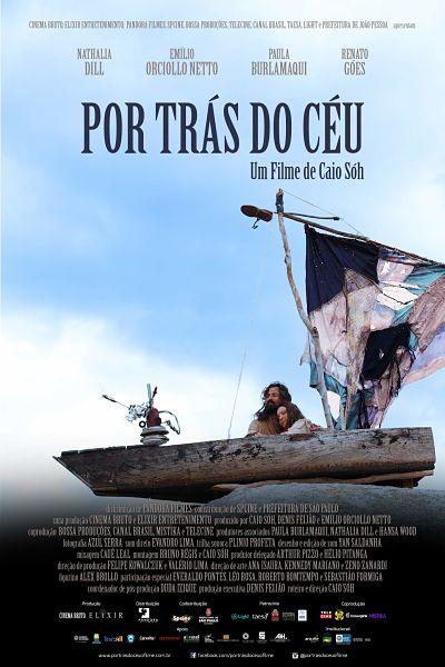 Cartaz Oficial filme Por Trás do Céu - bem menor