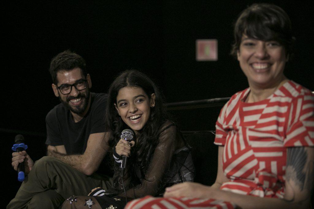 Nina Medeiros e Gabriela Amaral Almeida na Sessão Debate promovida pelo Estadão e o Cine Belas Artes (SP)
